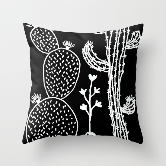 cactus-30-black-pillows