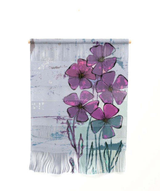 Meadow flowers lilac Wall Hanging by ranitasart Society6 - Google Chrome 20.07.2018 220906