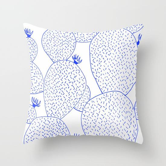 cactus-55-blue-pillows