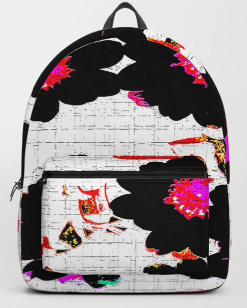 Flowers mixed media Backpack by ranitasart Society6 - Google Chrome 18.08.2018 114607-001