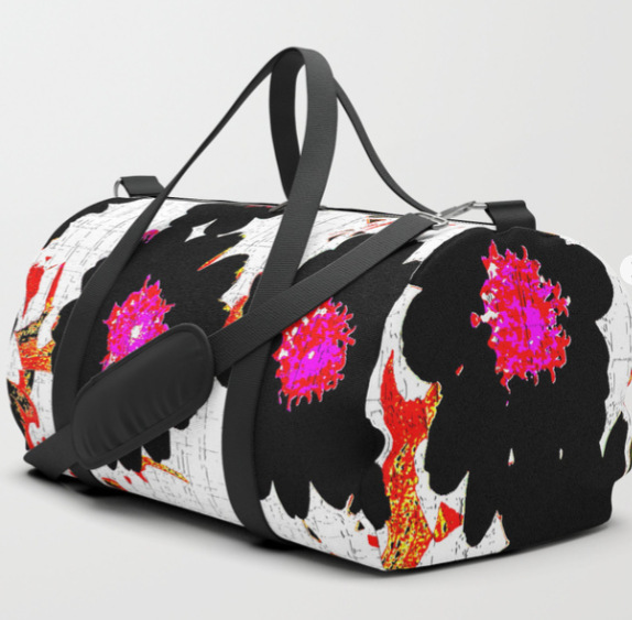 Flowers mixed media Duffle Bag by ranitasart Society6 - Google Chrome 18.08.2018 114613-001