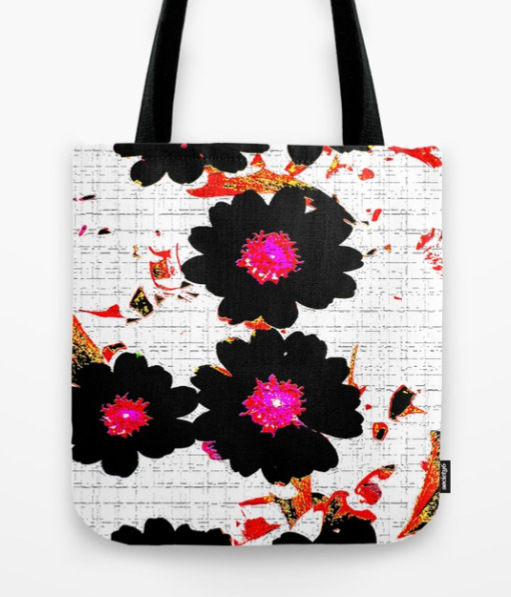 Flowers mixed media Tote Bag by ranitasart Society6 - Google Chrome 18.08.2018 114601-001