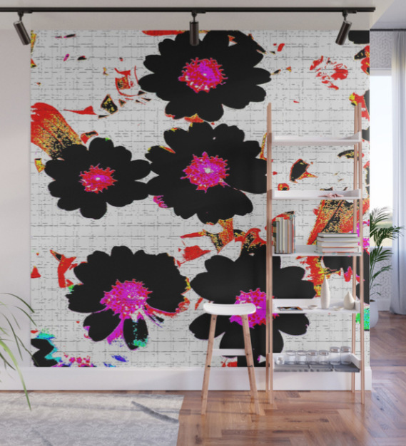 Flowers mixed media Wall Mural by ranitasart Society6 - Google Chrome 18.08.2018 114633-001