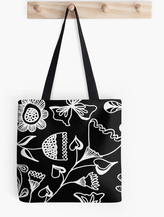 tote bag folk design