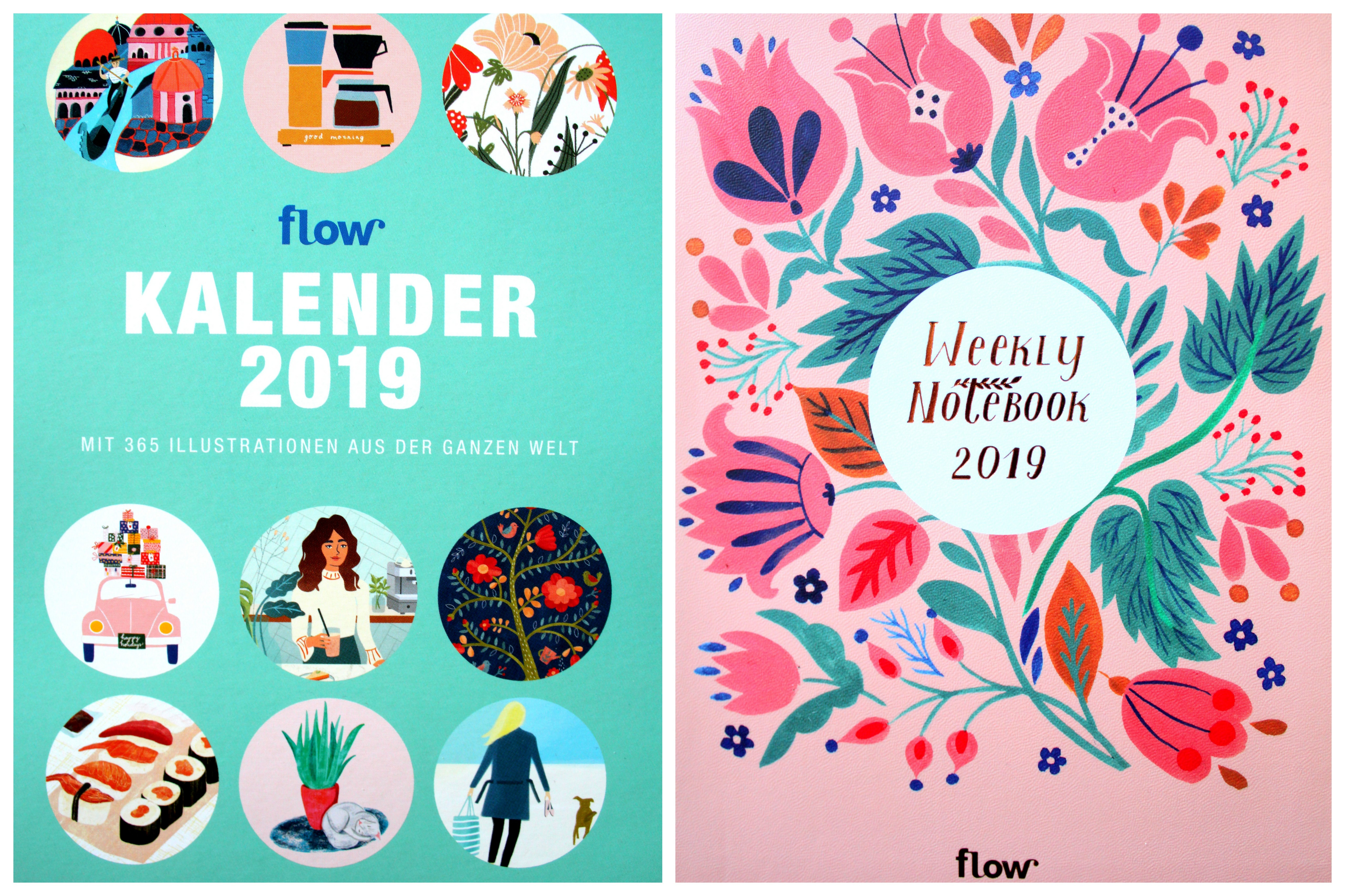 Flow diary and calender