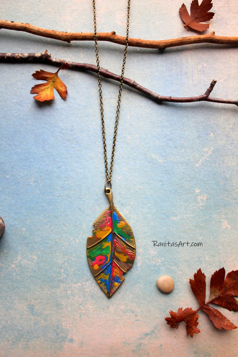 see this beauty colorful leaf